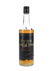 Teacher's 60 Reserve Stock Bottled 1980s 75cl / 40%