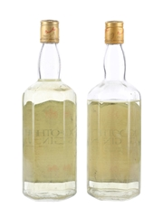 Booth's Gin Bottled 1970s 2 x 75.7cl / 40%