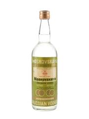 Moskovskaya Russian Vodka 3 Year Old