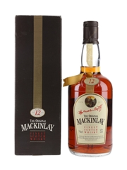 Mackinlay's 12 Year Old Bottled 1980s 75cl / 43%