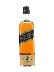 Johnnie Walker Black Label 12 Year Old Bottled 1990s 70cl / 40%