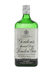 Gordon's Special Dry London Gin Bottled 1970s 75.7cl / 40%