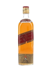 Johnnie Walker Red Label Bottled 1980s 75cl