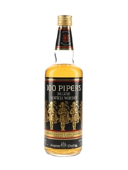 Seagram's 100 Pipers Bottled 1980s 75cl / 40%