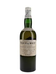 Buchanan's Black & White Spring Cap