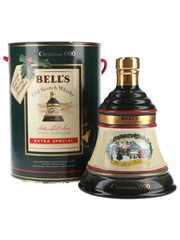 Bell's Christmas 1990 Ceramic Decanter The Art Of Distilling 75cl / 43%