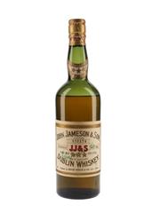 John Jameson & Son 3 Star Dublin Whiskey Bottled 1950s - Hugh White & Co. Ltd. 75cl