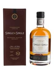 Cambridge Circus 32 Year Old Single & Single - Bottle No. 010 70cl / 47.3%