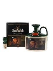 Glenfiddich Scottish Royalty Ceramic Jug Bottled 1980s - Robert The Bruce 75cl / 43%