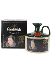 Glenfiddich Scottish Royalty Ceramic Jug Bottled 1980s - Mary Queen Of Scots 75cl / 43%