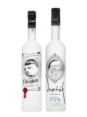 Chopin & Dvorak Vodka 75cl & 70cl