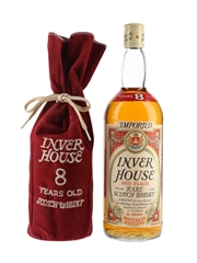 Inver House 8 Year Old Red Plaid Bottled 1980s 100cl / 43%