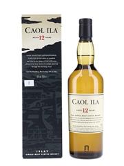 Caol Ila 12 Year Old  70cl / 43%