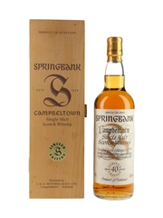Springbank 40 Year Old Millennium Set 70cl / 40.1%