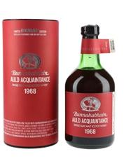 Bunnahabhain 1968 Auld Acquaintance Bottled 2002 - Hogmanay Edition 70cl / 43.8%