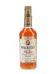 Walker's 8 Year Old Deluxe Bottled 1970s 75cl / 40%