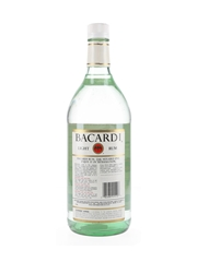 Bacardi Silver Label Bottled 1980s-1990s - Puerto Rico 114cl / 40%