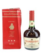 Courvoisier 3 Star Luxe Bottled 1970s-1980s 70cl / 40%