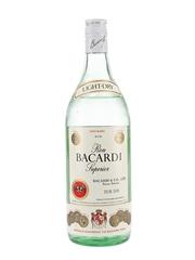 Bacardi Carta Blanca Bottled 1970s 100cl / 37.5%