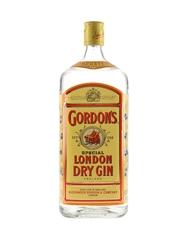 Gordon's London Dry Gin Bottled 1980s-1990s 112.5cl / 47.3%