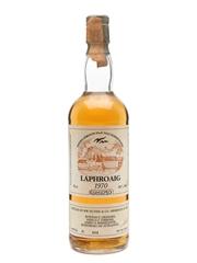 Laphroaig 1970 Samaroli Bottled 1986 75cl / 54%