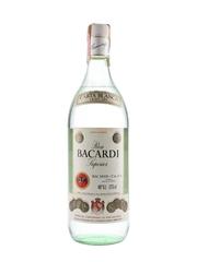 Bacardi Carta Blanca Bottled 1970s-1980s - Spain 125cl / 40%