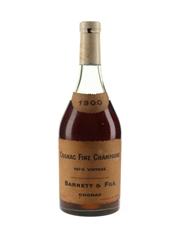 Barnett 1900 Fine Champagne Cognac Bottled 1950s-1960s 70cl / 40%