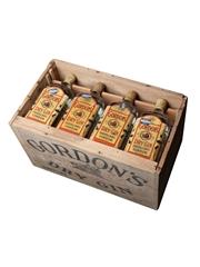 Gordon's Dry Gin Spring Cap Bottled 1950s - US Navy Mess 12 x 75cl / 47.4%
