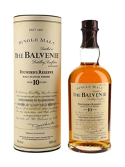 Balvenie 10 Year Old Founder's Reserve Bottled 1990s-2000s 70cl / 40%