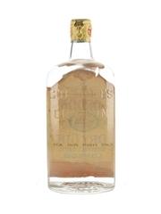 Gordon's Dry Gin Spring Cap Bottled 1950s - Ship Stores 75cl