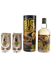 Big Peat With Tasting Glasses Douglas Laing 70cl / 46%