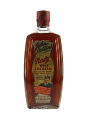John Collins Navy Wine Cocktail Bottled 1950s-1960s 75cl / 20%