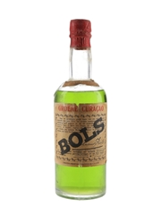 Bols Groene Curacao Bottled 1950s-1960s 50cl