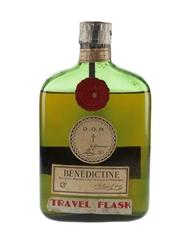 Benedictine DOM Travel Flask Bottled 1950s-1960s 35cl / 43%