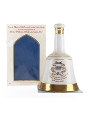 Bell's Ceramic Decanter Prince William Of Wales 1982 50cl / 43%