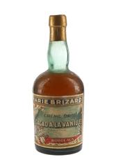 Marie Brizard Creme A La Vanille Bottled 1940s-1950s 50cl