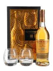 Glenmorangie 10 Year Old Gift Set with Tumblers 70cl / 40%