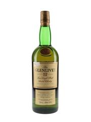 Glenlivet 12 Year Old Bottled 2000s 100cl / 40%