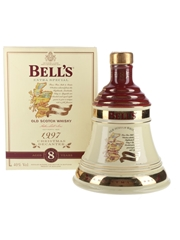 Bell's Christmas 1997 Ceramic Decanter Ingredients Of Quality 70cl / 40%