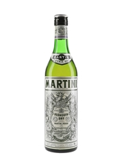 Martini Extra Dry Bottled 1980s-1990s 75cl  / 17%