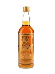 Yates Brothers Finest Blended Malt Scotch Whisky Bottled 1970s 75.7cl / 40%