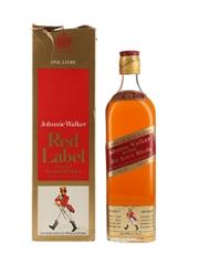Johnnie Walker Red Label Bottled 1970s 75.7cl / 40%