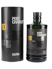 Port Charlotte 10 Year Old Bottled 2018 - Signed By Adam Hannett 70cl / 50%