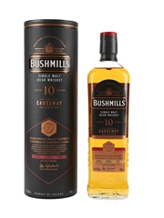 Bushmills 10 Year Old The Causeway Collection Bottled 2020 - Cognac Cask Finish 70cl / 46%
