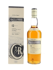 Cragganmore 12 Year Old Bottled 2000s 70cl / 40%
