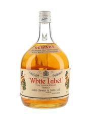 Dewar's White Label Bottled 1970s - Large Format 200cl