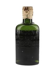 Gordon's Special Dry London Gin Bottled 1930s - Spring Cap 20cl