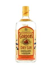 Gordon's Dry Gin Bottled 1980s 100cl / 47.3%