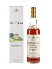 Macallan 12 Year Old Bottled 1990s 70cl / 43%