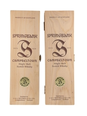 Springbank Whisky Boxes - Empty